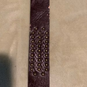 Accessories - Leather belt, studded, some wear